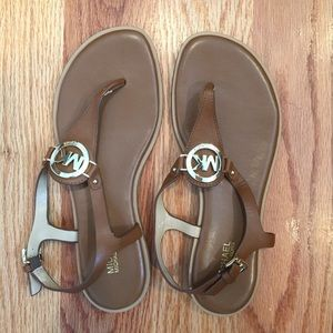 Michael Kors Leather Sandal 6.5 (new without tags)